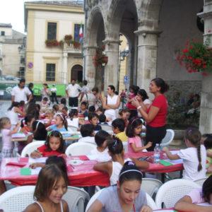 Laboratorio artistico per bambini in occasione dei centocinquant'anni dell'Unità d'Italia, Laboratorio ArtiBus a Lama dei Peligni