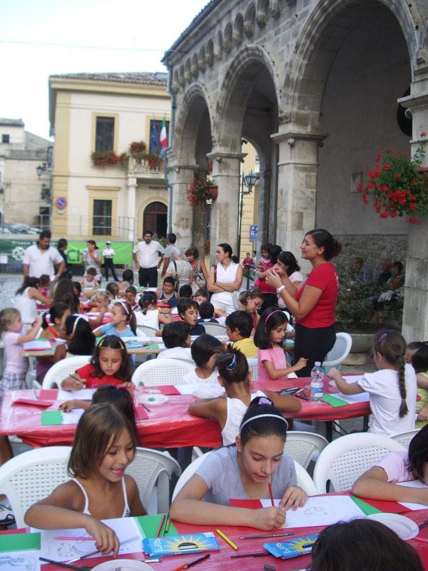 arte, mostra, unità d'italia, vasto, lama dei peligni, laboratorio, bambini