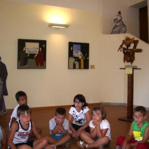 Visite guidate e laboratori per bambini alla mostra d'arte sulla Famiglia Rossetti, The House of life a cura di Daniela Madonna del Laboratorio ArtiBus, Casa Rossetti Vasto (CH)