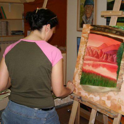 Corso di pittura ad olio per adulti