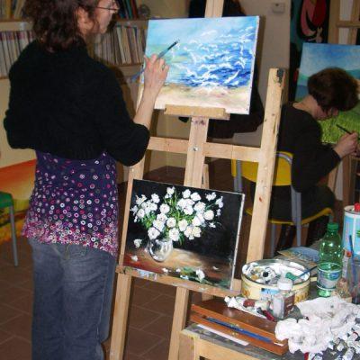 Laboratorio di pittura ad olio