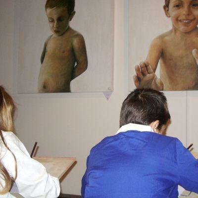 Corsi d'arte per bambini di disegno dal vero, Laboratorio ArtiBus Vasto