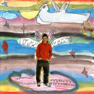 """""""Il volo"""" (Jacopo, 7 anni - collage)"""