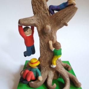 Ilaria, 13 anni - terracotta policroma