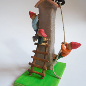 Michele, 11 anni - terracotta policroma
