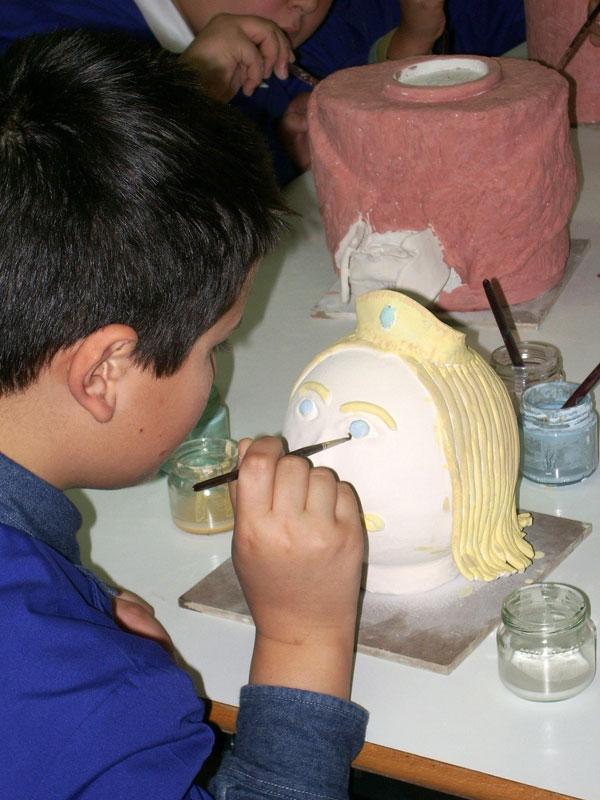 Progetti d'arte per la scuola primaria. Pittura, argilla e ceramica