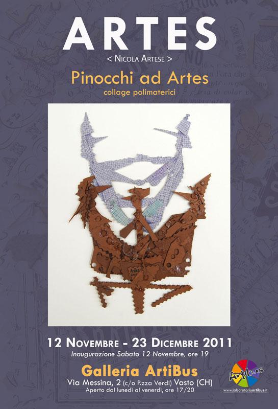 Nicola Artese, galleria ArtiBus, vasto