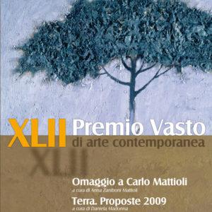 Copertina del catalogo IncontrArti 2009. Le Proposte del Premio Vasto, Terra a cura di Daniela Madonna- Musei civici di Palazzo d'Avalos