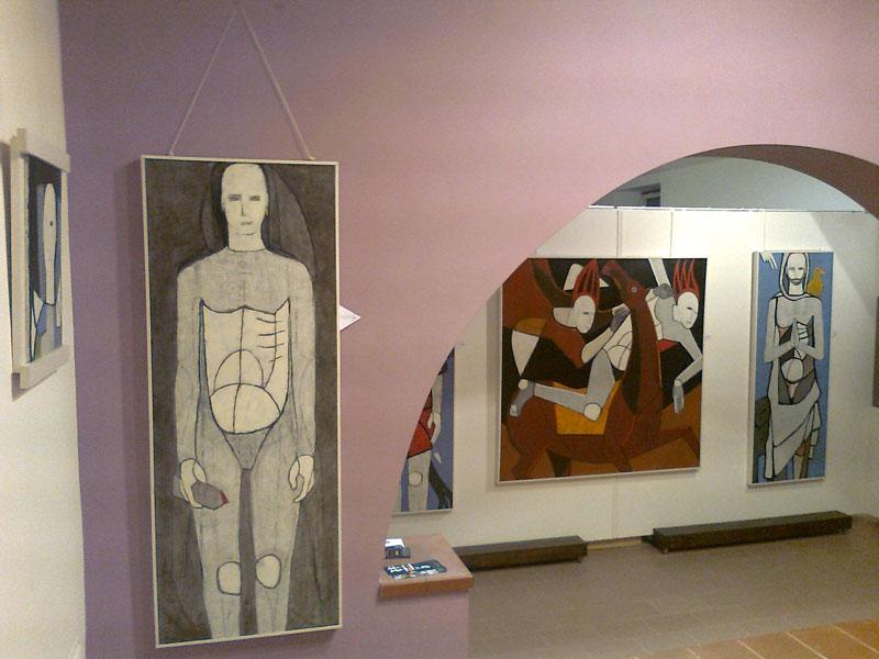 marco ercolano, galleria artibus, vasto