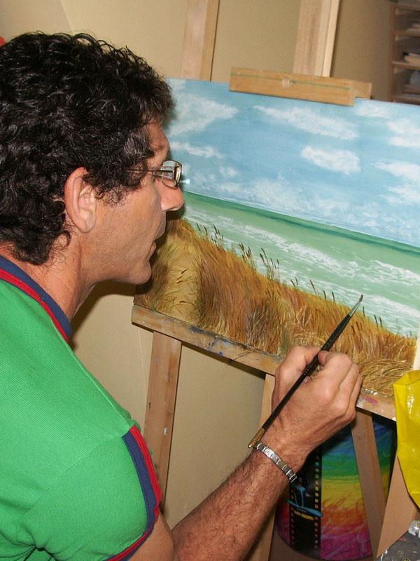 Corsi d'arte di disegno, pittura, argilla, scultura per adulti