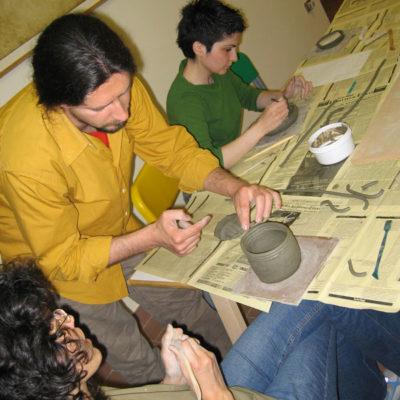 Corso di lavorazione dell'argilla e ceramica per adulti, Laboratorio ArtiBus Vasto (CH)