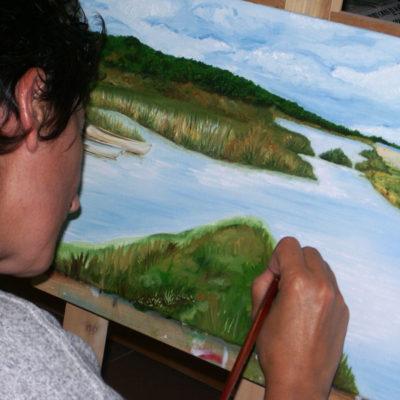 Corso di pittura ad olio per adulti, Laboratorio ArtiBus Vasto (CH)