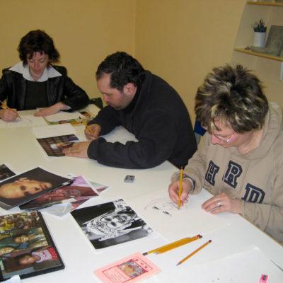 Corso di disegno per adulti, Laboratorio ArtiBus Vasto (CH)