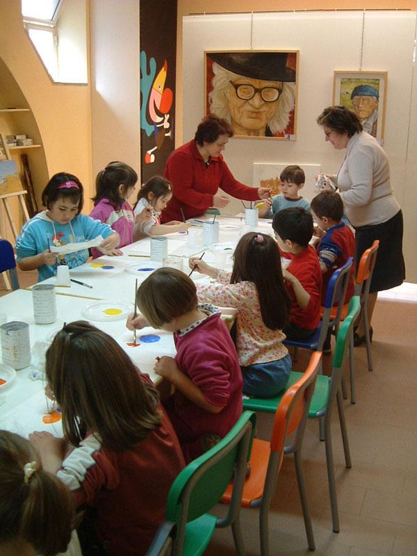 Uscite didattiche per la scuola dell'infanzia, primaria e secondaria. Pittura, argilla e ceramica