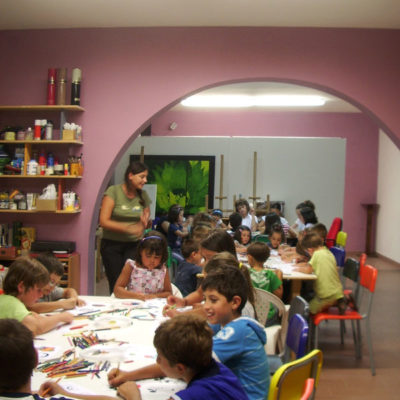 bambini, laboratori, vasto, estate, artibus