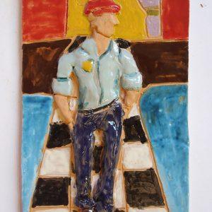 Danilo, 10 anni,ceramica