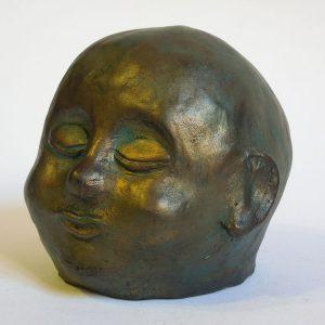 Alessia terracotta patinata