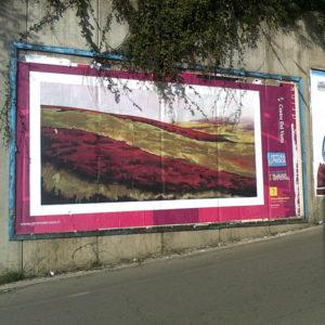 billboard, vasto, daniela madonna, arte di strada, bruno scafetta
