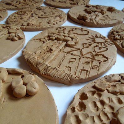 Formelle in terracotta