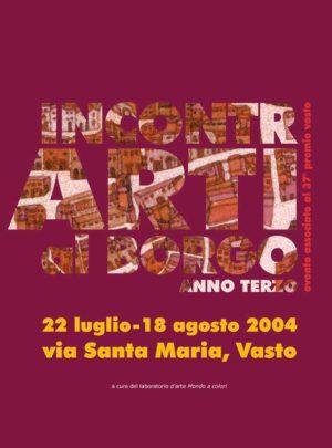 IncontrArti 2004