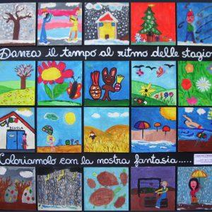 Pannello pittorico, Scuola Primaria di San Salvo