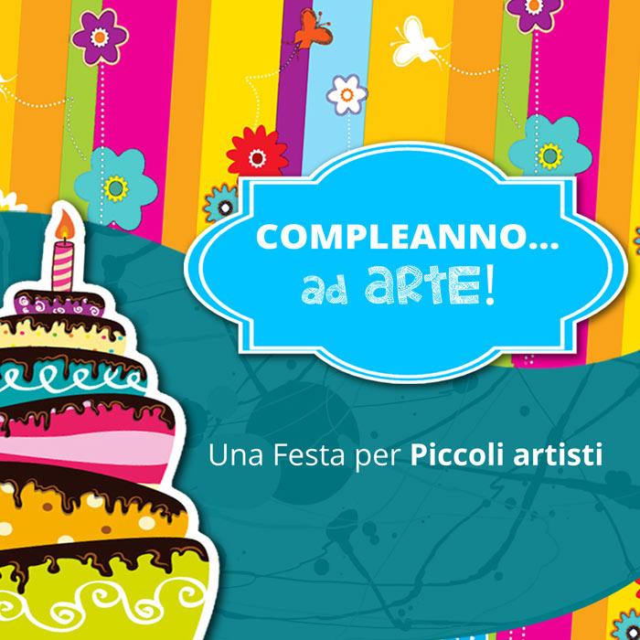 Feste di compleanno ad arte per bambini e ragazzi presso il Laboratorio ArtiBus di Vasto