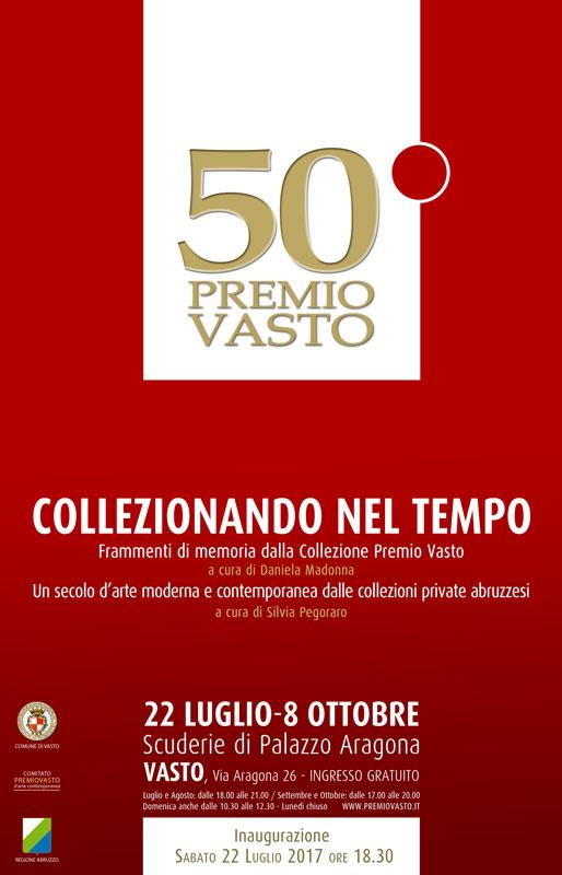 Cinquantesimo Premio Vasto con opere di De Chirico, Balla, Burri, Fieschi, Tadini