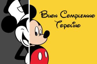 Buon compleanno Topolino