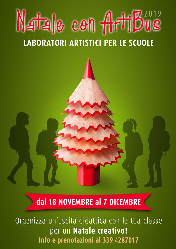 Natale con ArtiBus per le scuole 2019