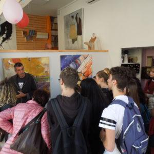 Davide Scutece incontra gli studenti