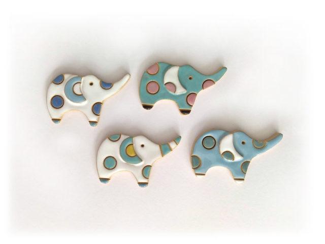 Magnete in ceramica Elefante