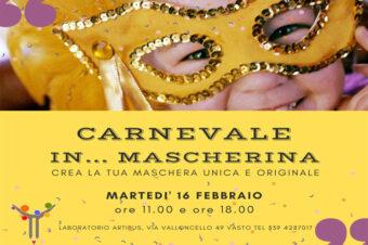 Carnevale in… mascherina